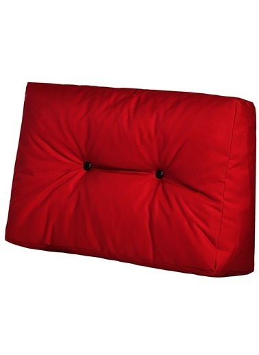 Dekoro Kırmızı Dış Mekan Palet Minderi Seti (Set: 3 ) Kırmızı